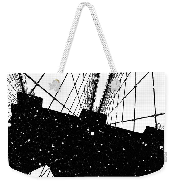 Snow Collection Set 06 Weekender Tote Bag
