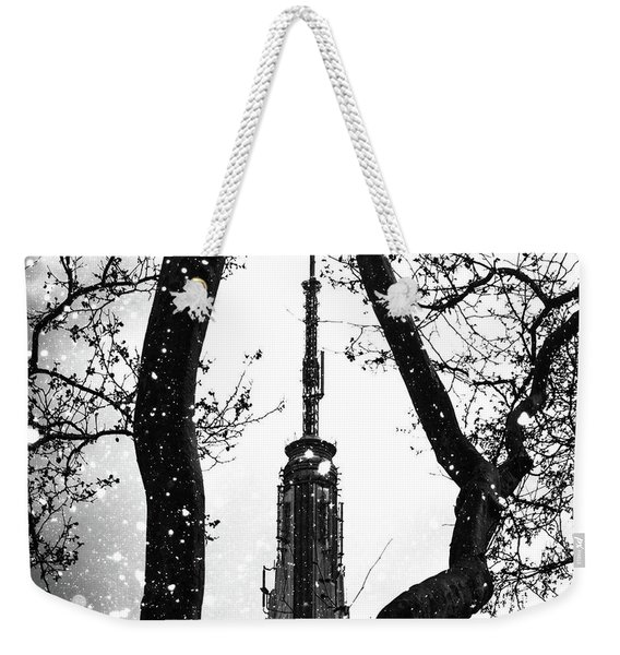 Snow Collection Set 07 Weekender Tote Bag
