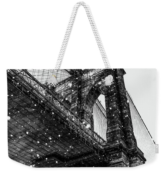 Snow Collection Set 08 Weekender Tote Bag