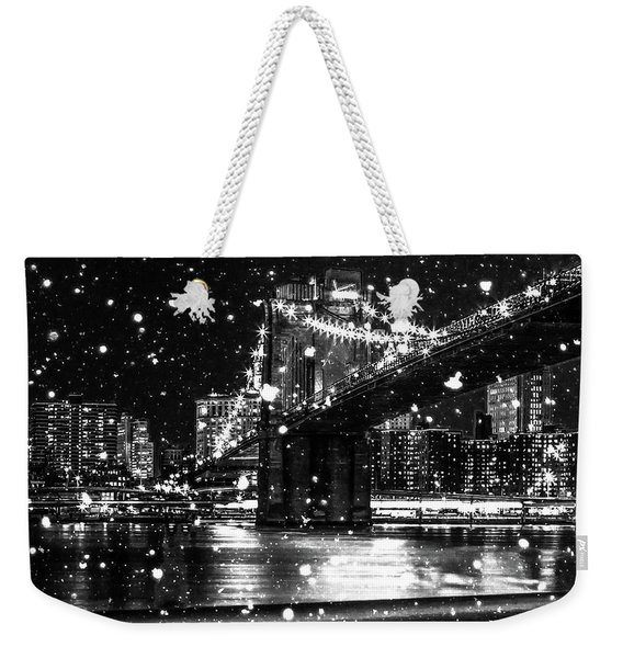 Snow Collection Set 09 Weekender Tote Bag