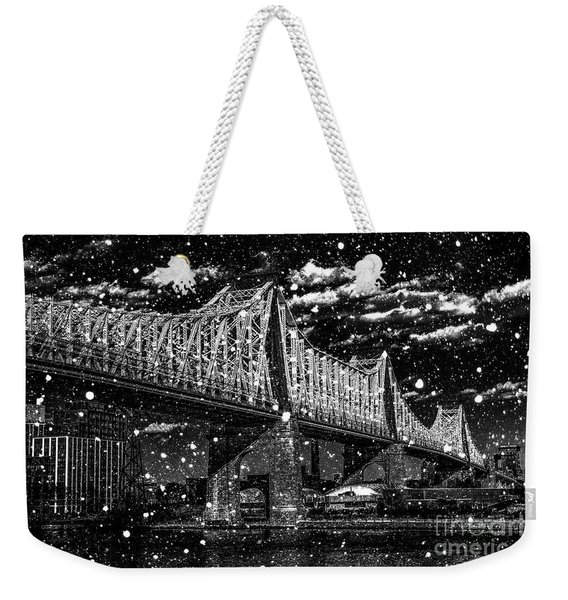 Snow Collection Set 10 Weekender Tote Bag