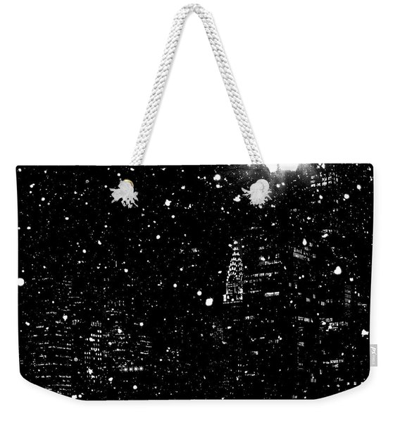 Snow Collection Set 11 Weekender Tote Bag