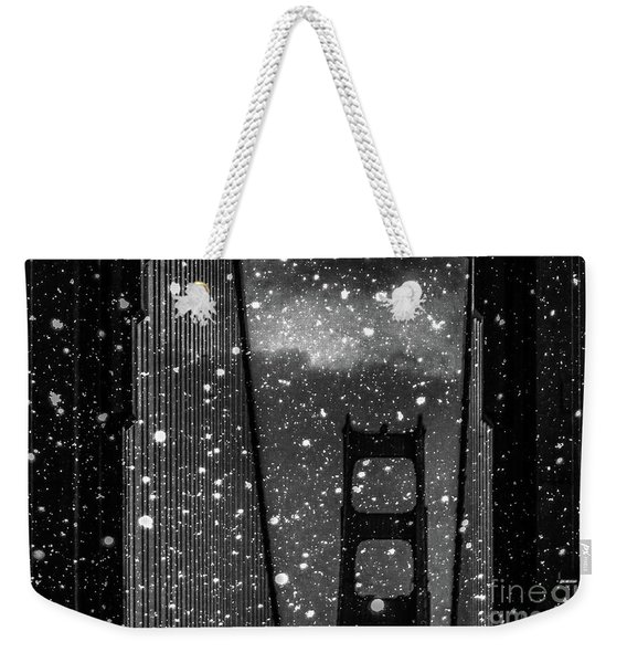 Snow Collection Set 12 Weekender Tote Bag