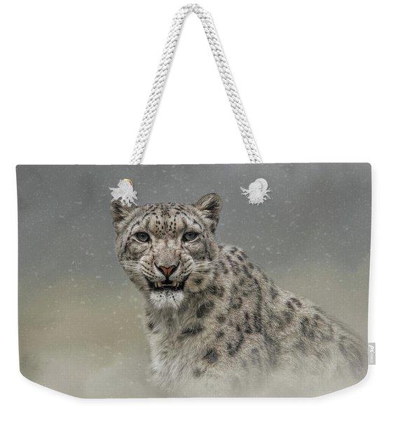 Snow Ghost Weekender Tote Bag