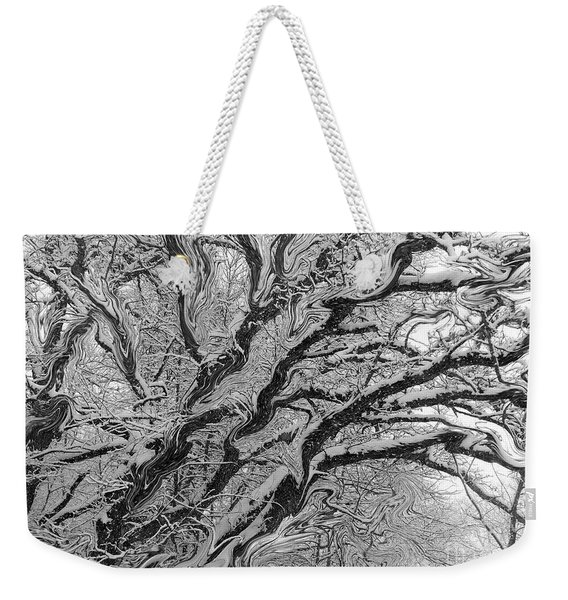 Snow Melt Weekender Tote Bag