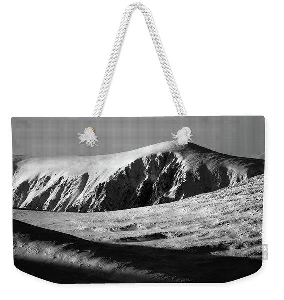 Snow On Cairngorm Weekender Tote Bag