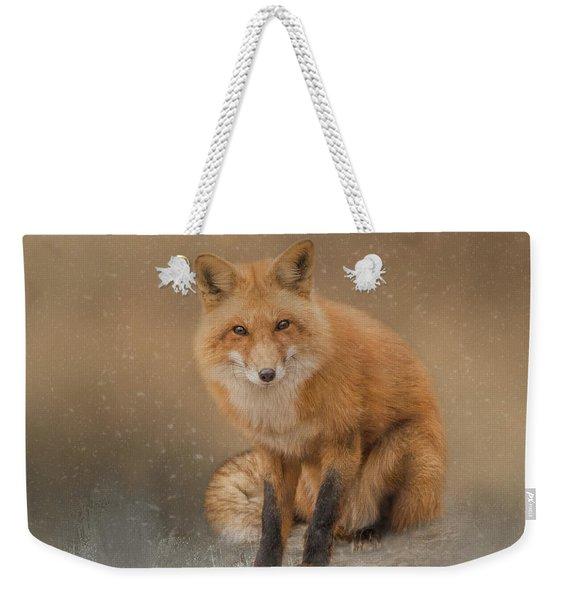 Snow Prince Weekender Tote Bag