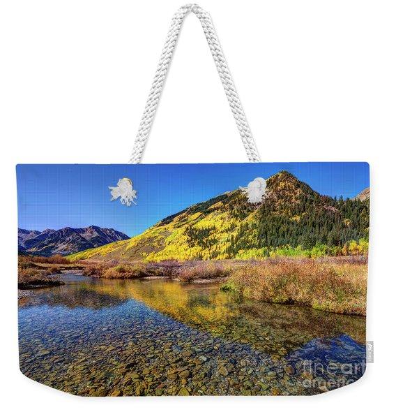 Snowmass Creek Weekender Tote Bag