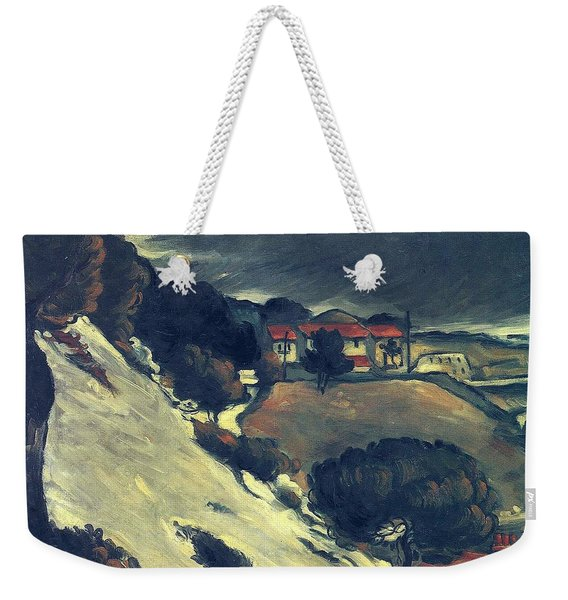Snowmelt In L Estaque 1870 Weekender Tote Bag