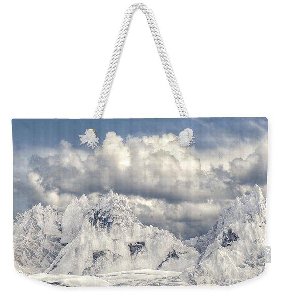 Snowy Mountain 002 Weekender Tote Bag