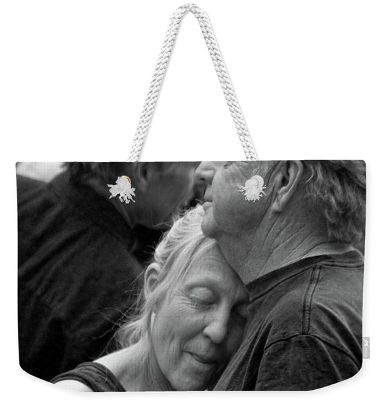 Weekender Tote Bag featuring the photograph So Close by Catherine Sobredo