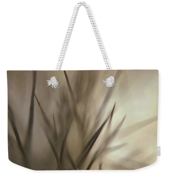 Soft And Spiky Weekender Tote Bag
