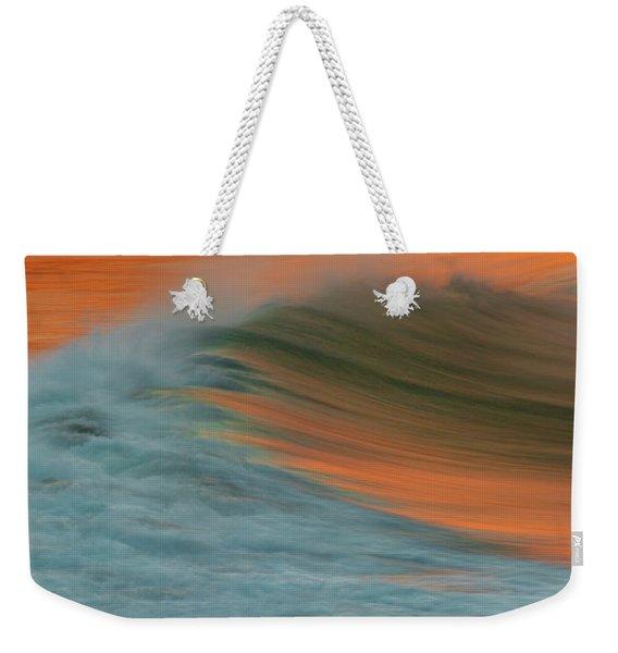Soft Wave Weekender Tote Bag