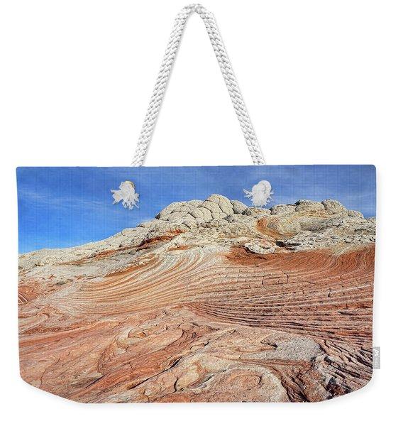 Solid Waves Pano Weekender Tote Bag