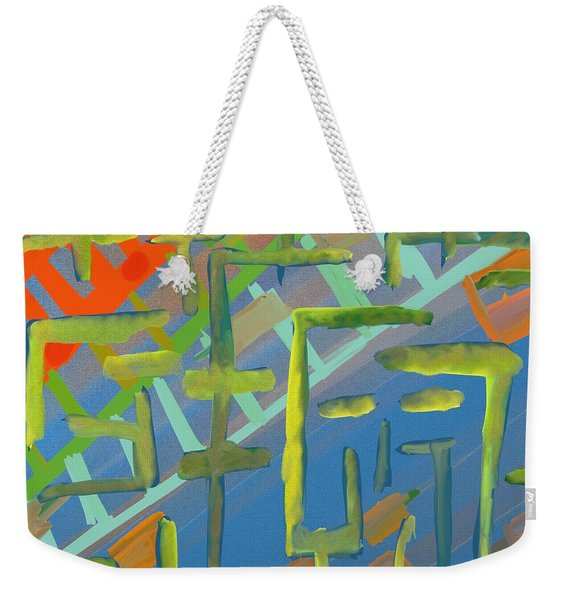 Somebody's Watching Me Weekender Tote Bag