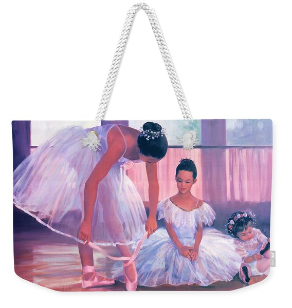Someday I Will Have Toe Shoes Weekender Tote Bag