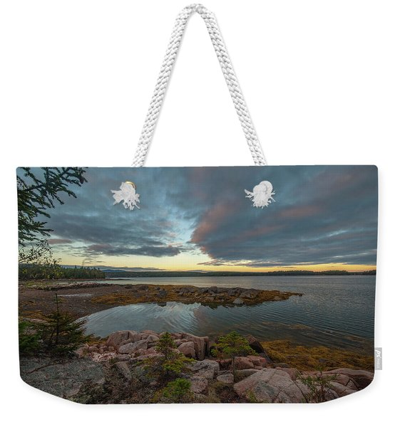 Somes Sound Sunset Weekender Tote Bag