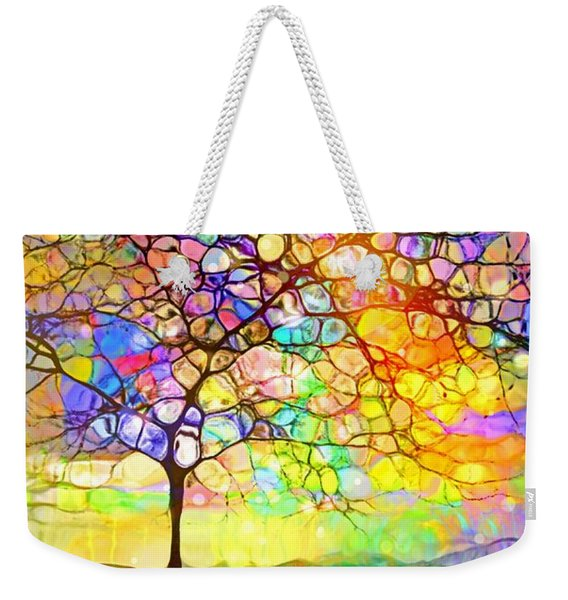 Sometimes We All Need A Little Colour Weekender Tote Bag
