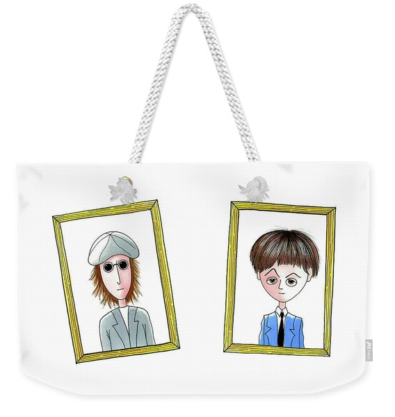 Songwriters Weekender Tote Bag