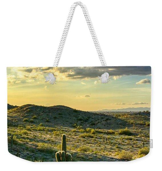 Sonoran Desert Portrait Weekender Tote Bag