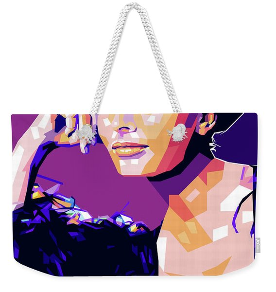 Sophia Loren Pop Art Weekender Tote Bag