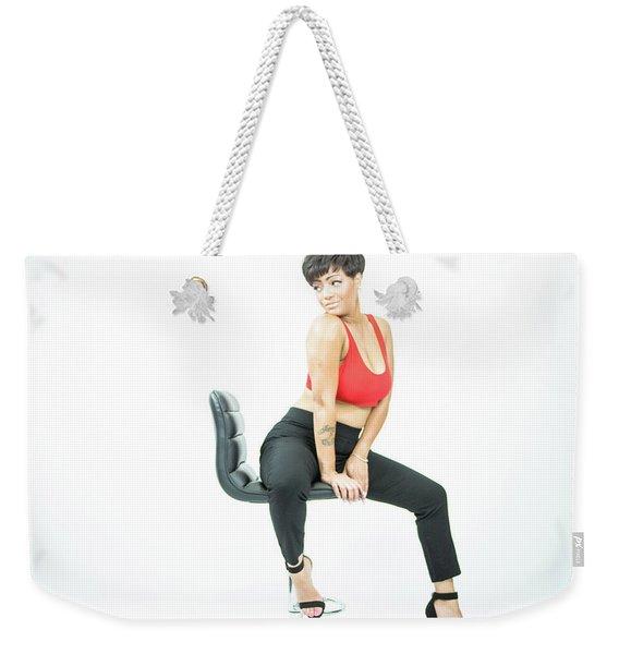 Sophistcated Weekender Tote Bag