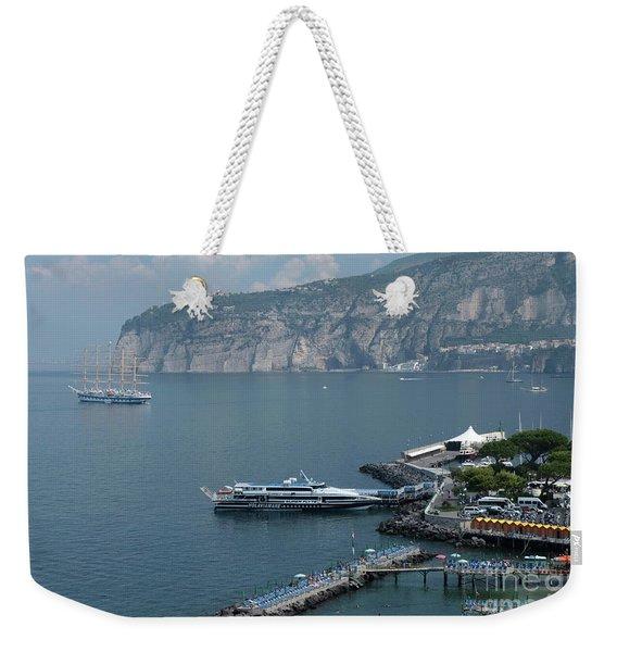 Sorrento Port Weekender Tote Bag