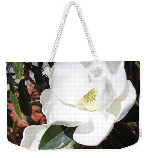 Sosouthern Magnolia Blossoms Weekender Tote Bag