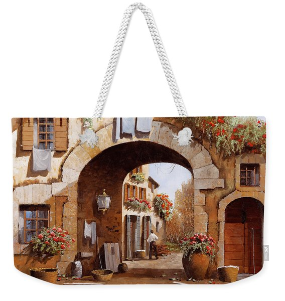 Sotto L'arco Weekender Tote Bag