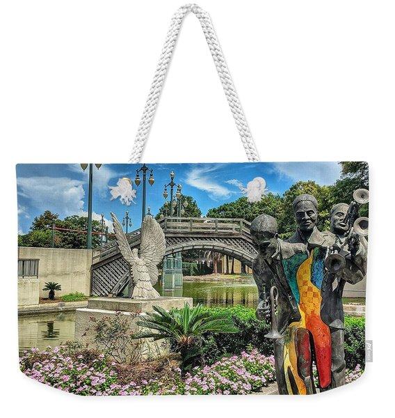 Sounds Of Nola Weekender Tote Bag