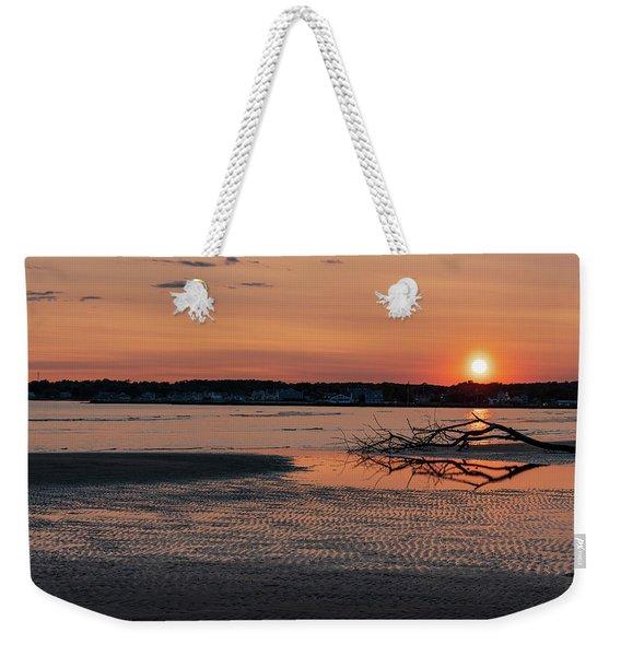 Soundview Sunset Weekender Tote Bag