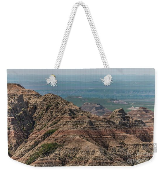 South Dakota Badlands Weekender Tote Bag