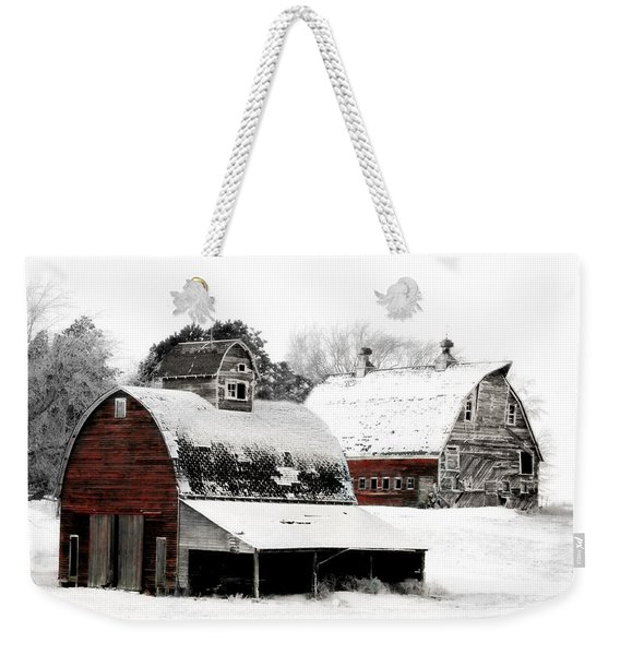 South Dakota Farm Weekender Tote Bag