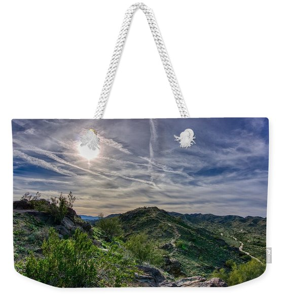 South Mountain Depth Weekender Tote Bag