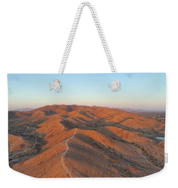 South Mountain Sunrise Weekender Tote Bag
