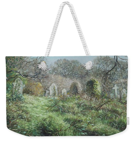 Southampton Old Cemetery In Autumn Weekender Tote Bag