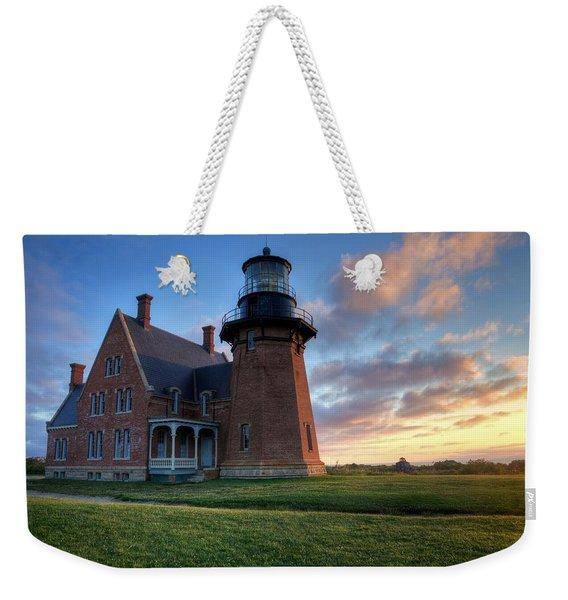 Southeast Light Sunrise Weekender Tote Bag