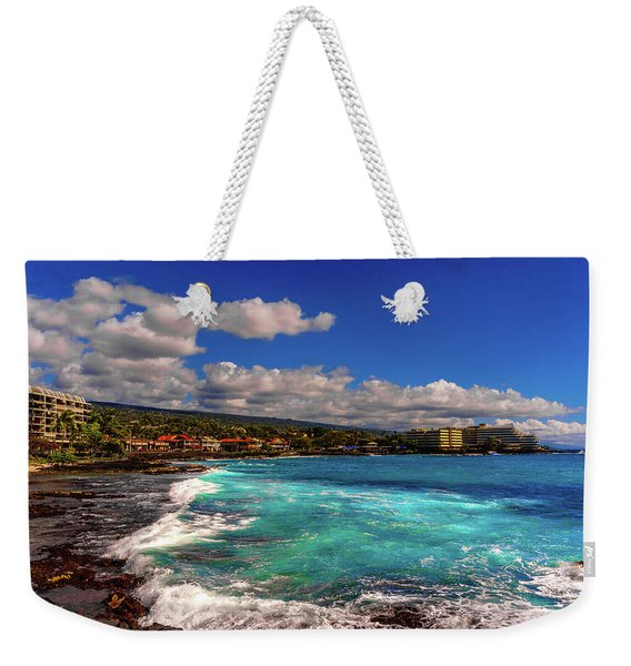 Southern View Of The Shore Weekender Tote Bag