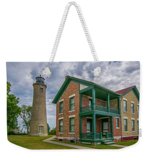 Southport Lighthouse  Weekender Tote Bag