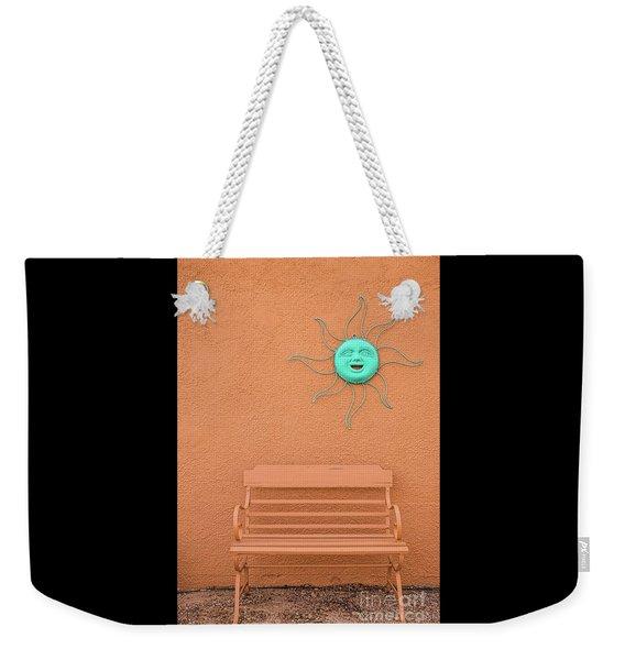 Southwestern Bench  Weekender Tote Bag