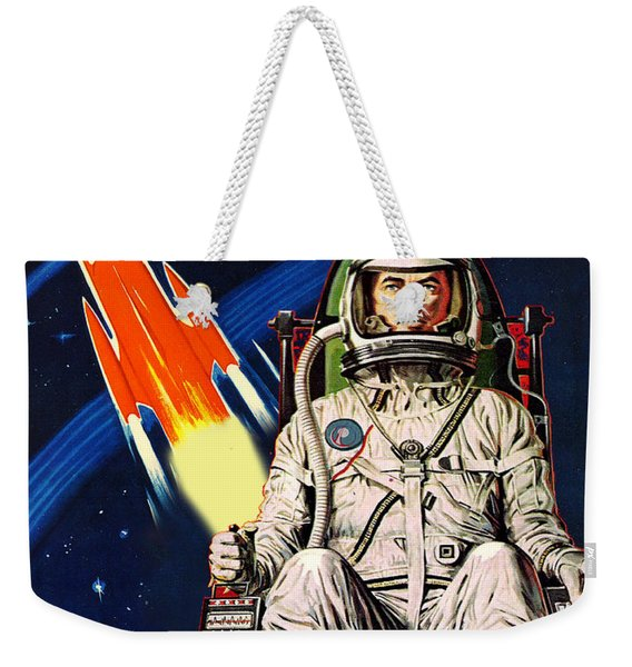 Space Is Our Destiny Weekender Tote Bag