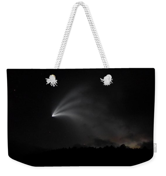 Space X Rocket Weekender Tote Bag