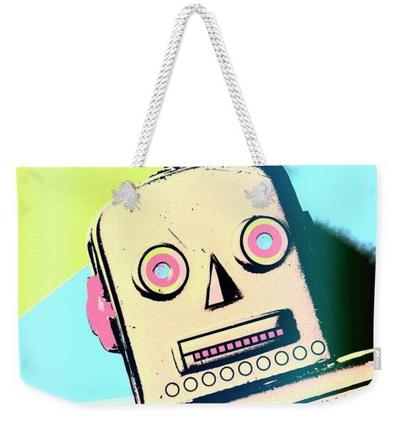Spaced Out Weekender Tote Bag