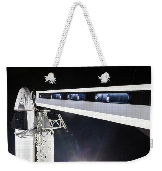 Spacex Launch Pad Walkway Weekender Tote Bag
