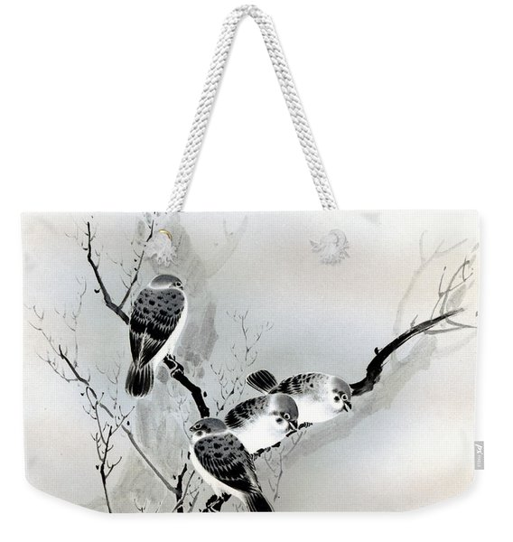 Sparrows Weekender Tote Bag