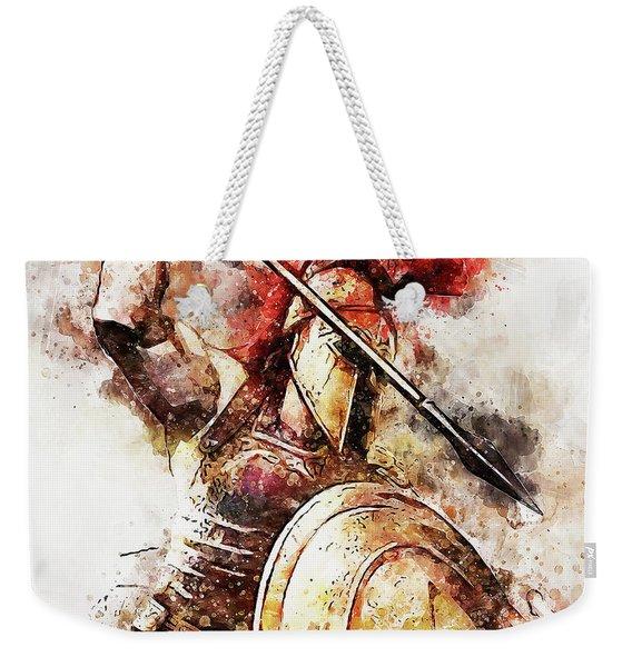 Spartan Hoplite - 54 Weekender Tote Bag