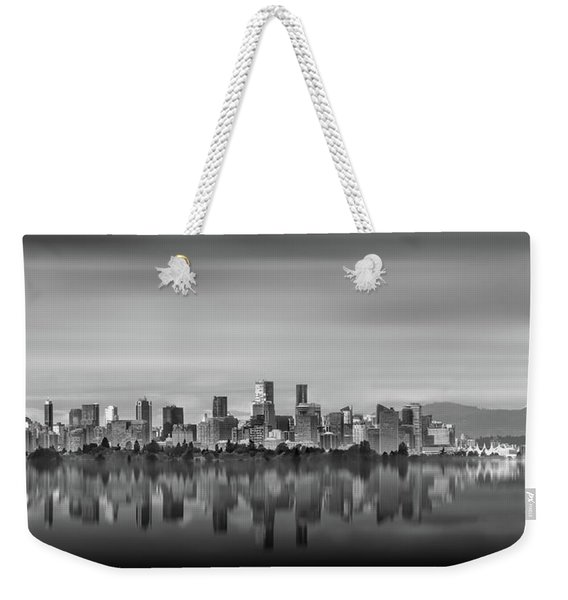 Special View Of Downtown Vancouver Weekender Tote Bag