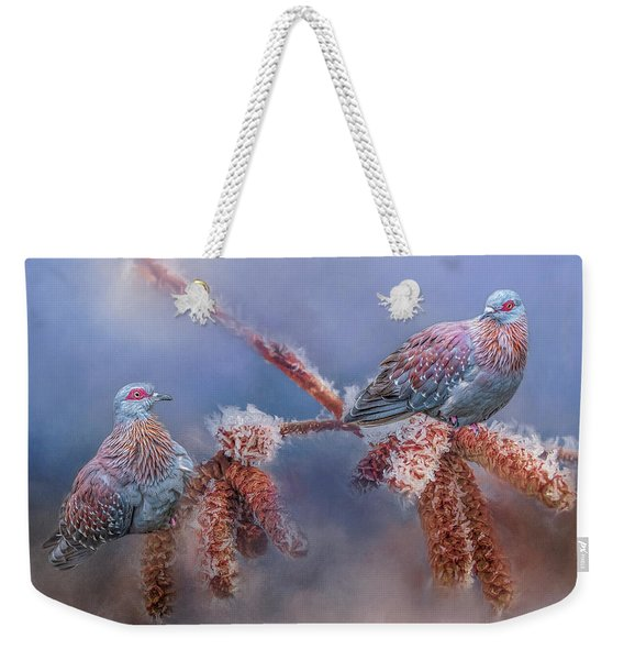 Speckled Pigeons Weekender Tote Bag