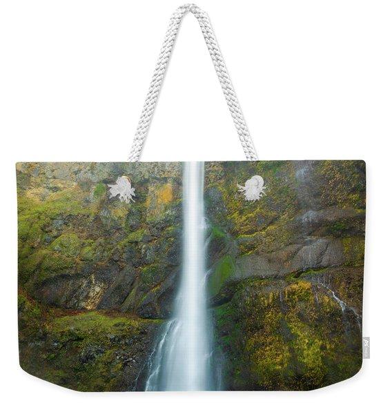 Spectacular Multnomah Falls Weekender Tote Bag