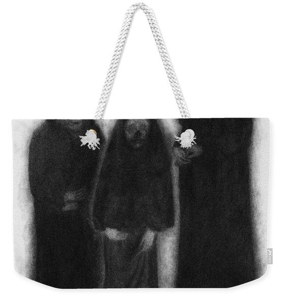 Specters Of The Darkness Beneath - Artwork Weekender Tote Bag